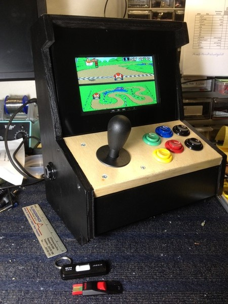 diy arcade cabinet kits more retropie mini cabinet. Black Bedroom Furniture Sets. Home Design Ideas