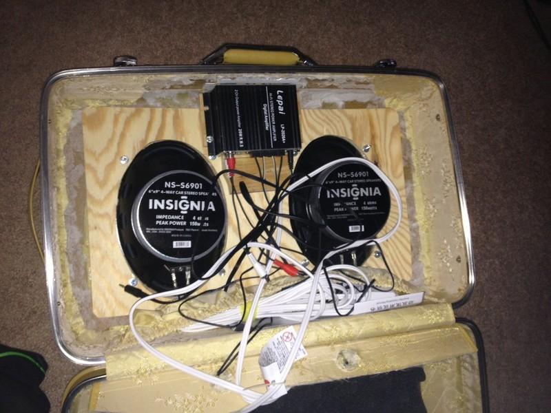 DIY Arcade Cabinet Kits + more. - Suitcase Speaker Box