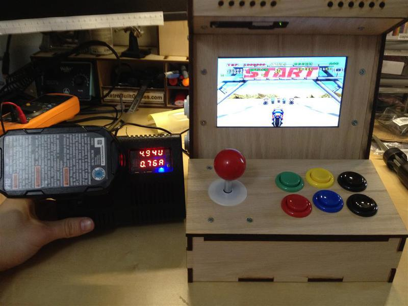 Diy Arcade Cabinet Kits More Portable Power Pack