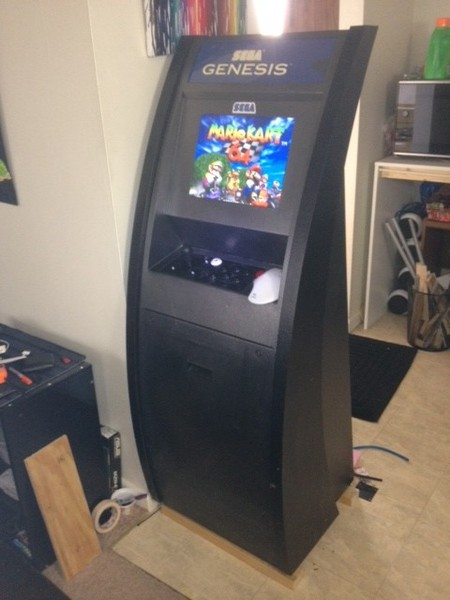 diy arcade cabinet kits more cabinet 4. Black Bedroom Furniture Sets. Home Design Ideas