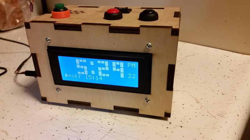 Clock on arduino i2c