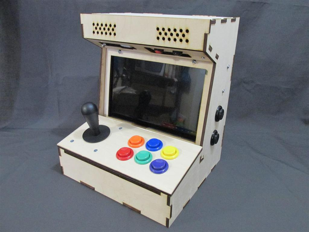 Diy Arcade Cabinet Kits More Porta Pi Kit Topic How To Wire Cherry Microswitch Button For Digital Read As Seen On