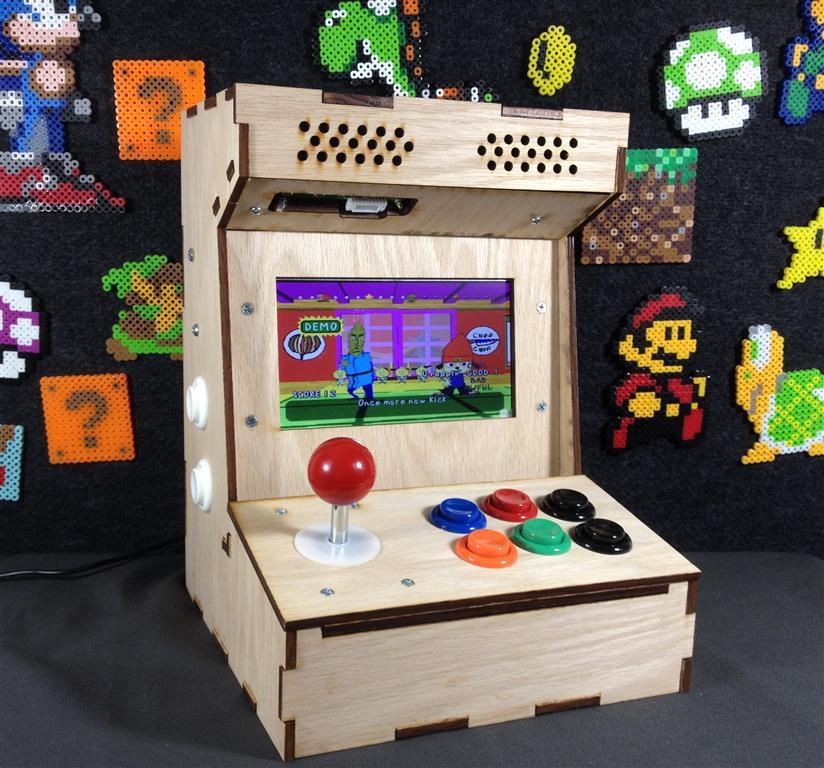 Diy Arcade Cabinet Kits More Porta Pi Arcade Kit