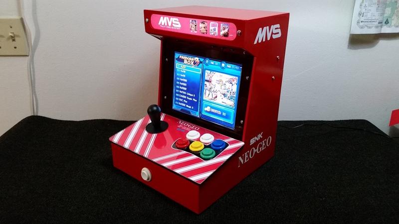 DIY Arcade Cabinet Kits + more. - Mini JAMMA Arcade