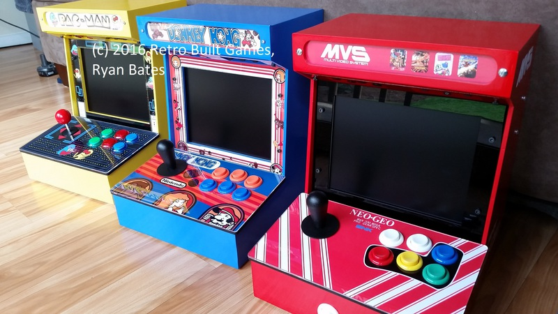 arcade machine cabinet kit