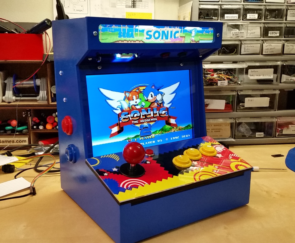 Diy arcade cabinet kits more the build page do it yourself arcade gaming malvernweather Gallery
