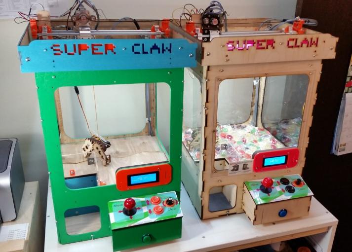 Claw machine 6 prizes