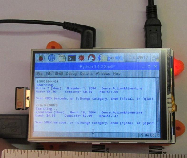 Python Barcode