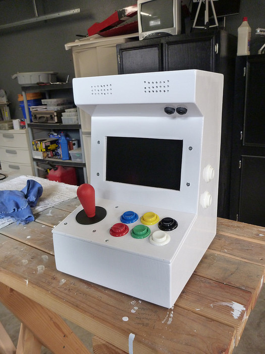 DIY Arcade Cabinet Kits + more. - DIY MiniCade | free plans