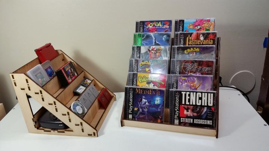 Diy arcade cabinet kits more video game shelves - Porta banana ikea ...