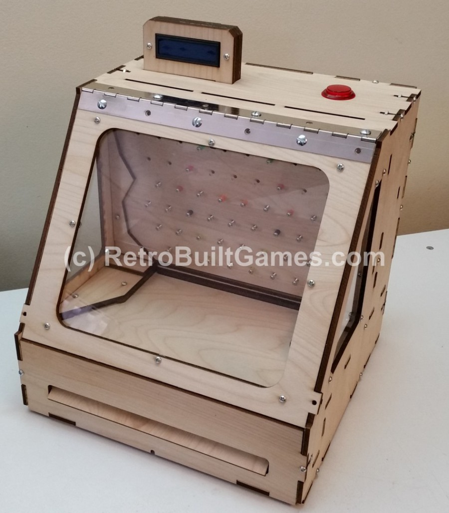 Diy Arcade Cabinet Kits More Coin Pusher W Arduino