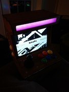 Ryan built a nice color changing backlight! Very cool